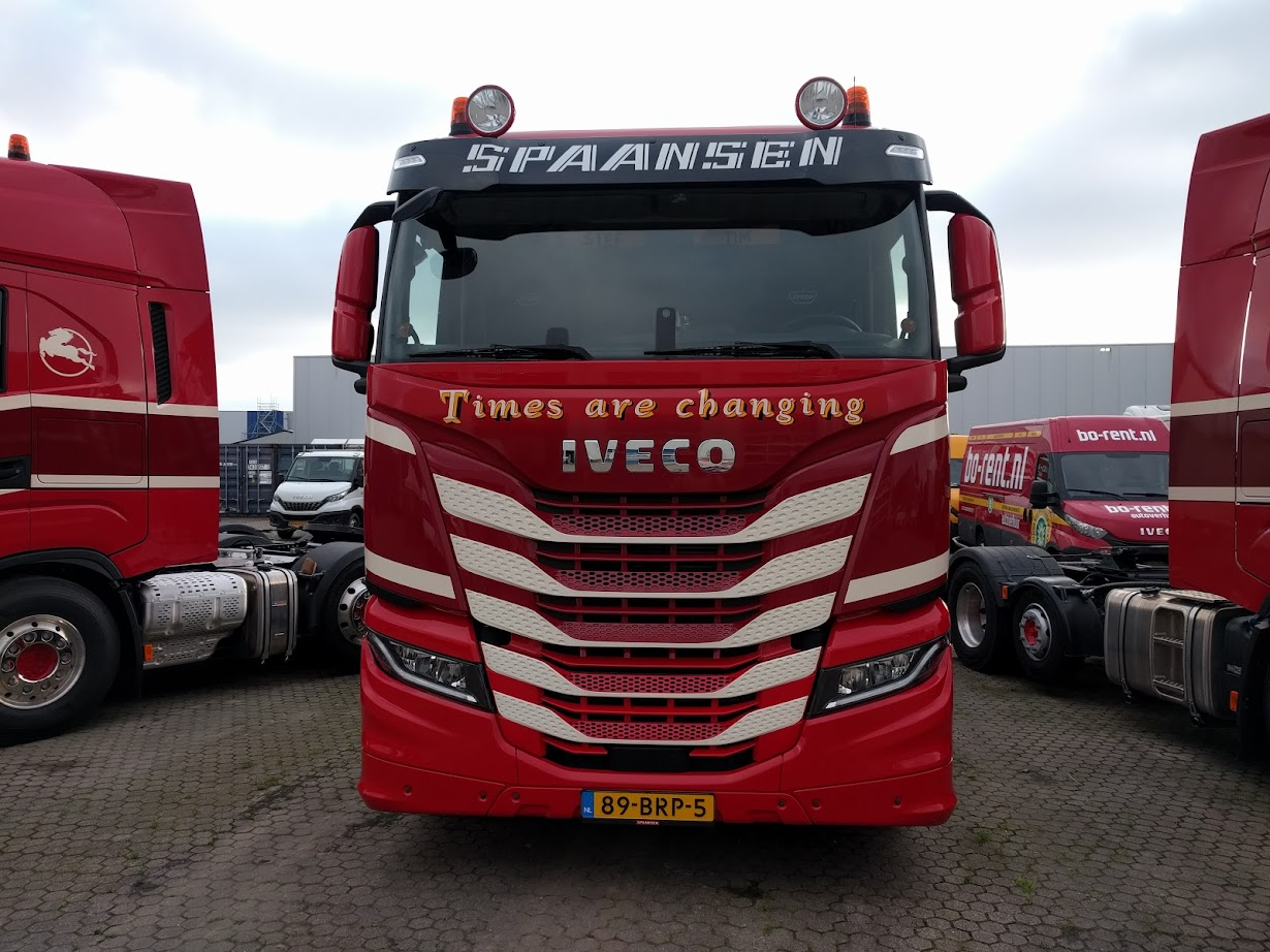 Spaansen IVECO S-WAY Times are changing