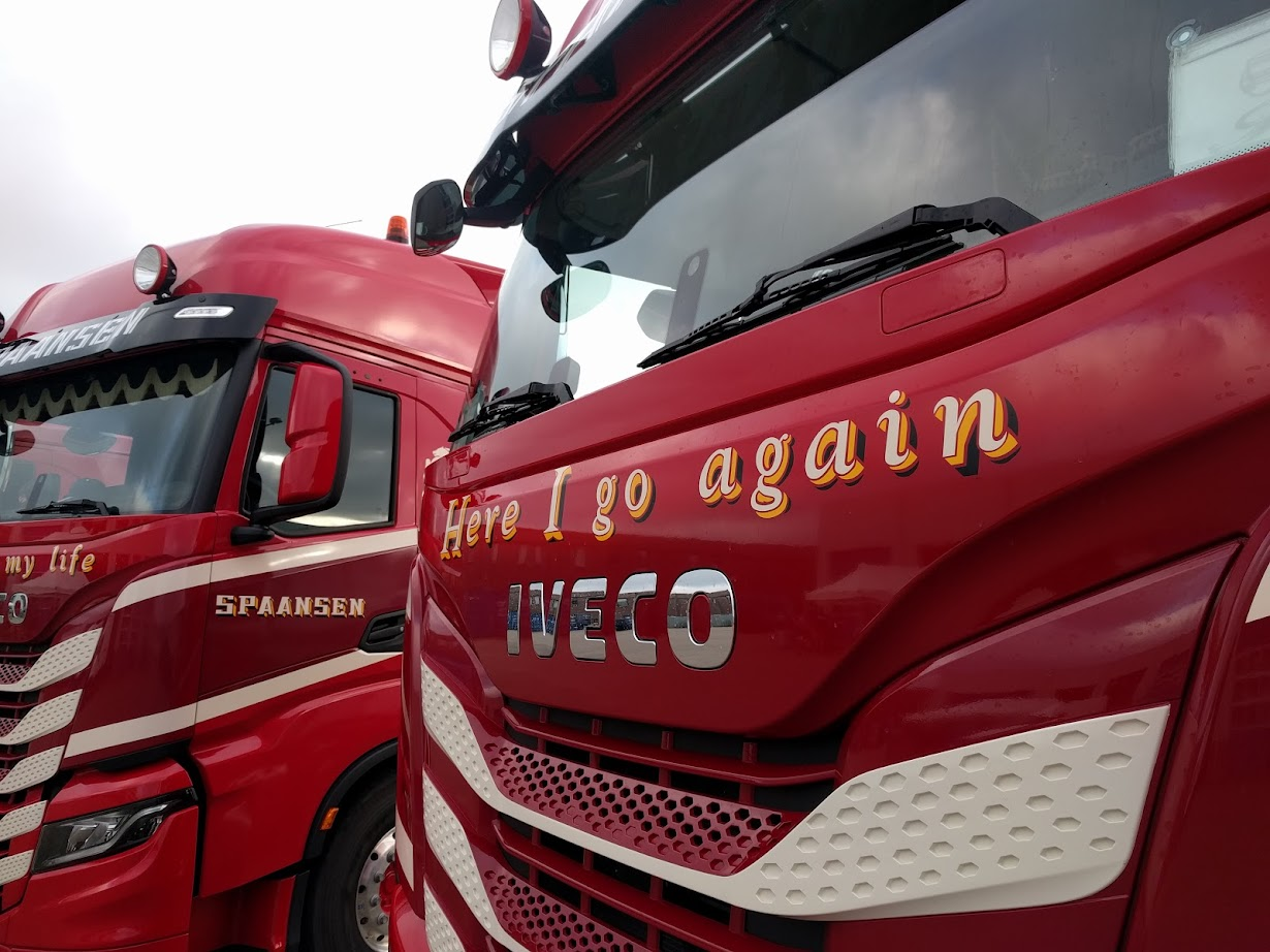 Spaansen IVECO S-WAY Here I go again