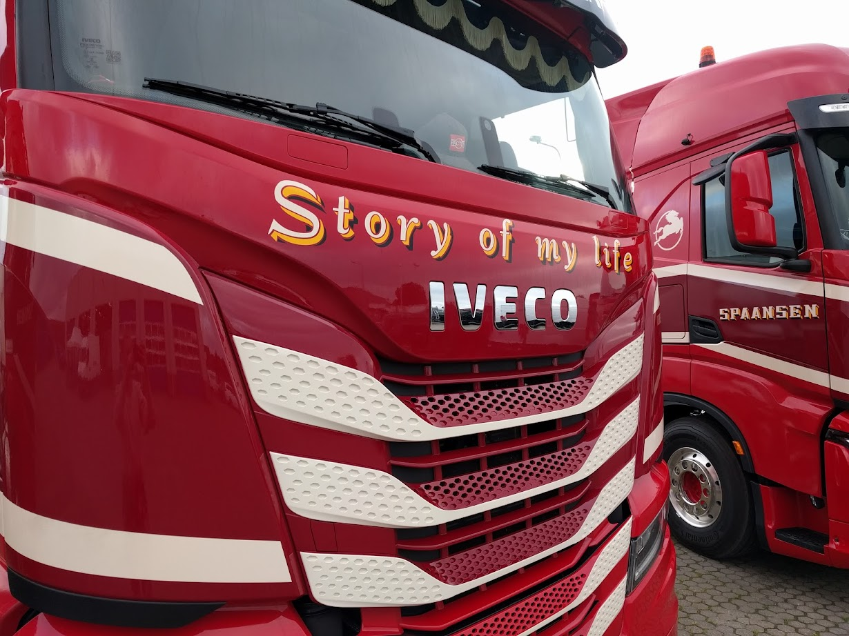 Spaansen IVECO S-WAY Story of my life