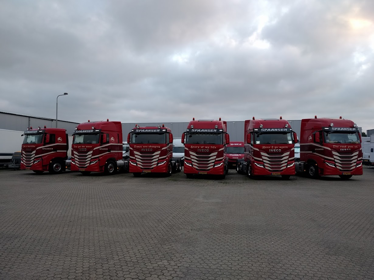 Spaansen opstelling IVECO S-WAYs