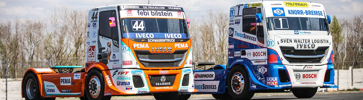 """IVECO is partner van het FIA European Truck Race Championship 2019 en neemt deel met """"Die Bullen von IVECO"""""""