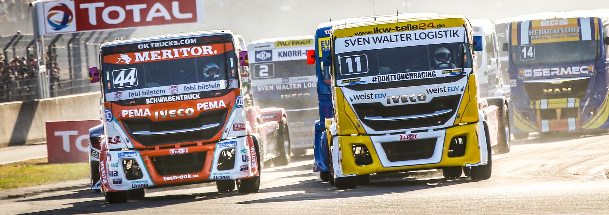 FIA ETRC - Een kijkje in de wereld van truck racing met IVECO-coureur Steffi Halm
