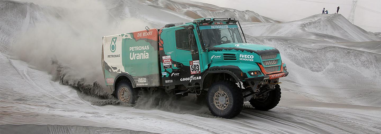 Dakar Rally 2019: Opnieuw geen vlekkeloze dag voor Team De Rooy