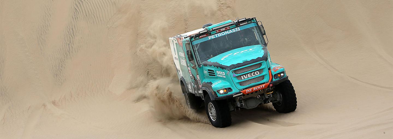 Dakar Rally 2019:De Rooy verkleint de verschillen, maar niet genoeg