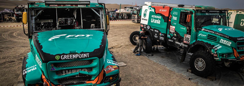 Dakar Rally 2019:Van Genugten toch nog tweede in Super Ica-stage