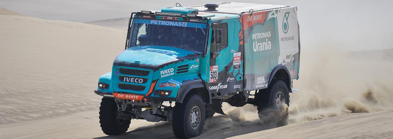 Dakar Rally 2019:Frustratie overheerst bij Team De Rooy op voorlaatste dag
