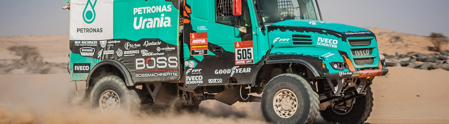 Dakar 2020 Etappe 8 - Pech zet Team De Rooy op achterstand