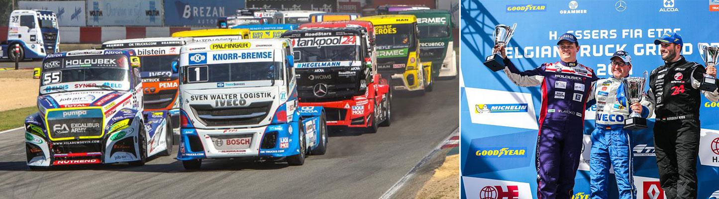 FIA ETRC: Belgian Truck Grand Prix een échte aanrader voor iedere autoliefhebber