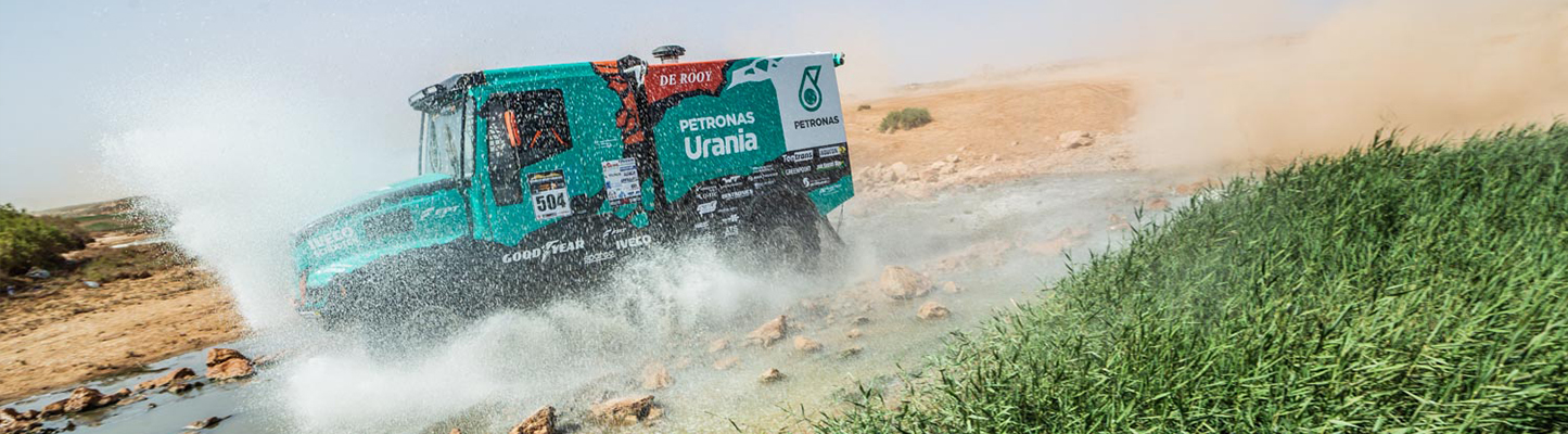 Morocco Desert Challenge:Tweede etappe te snel naar de zin van Ton van Genugten