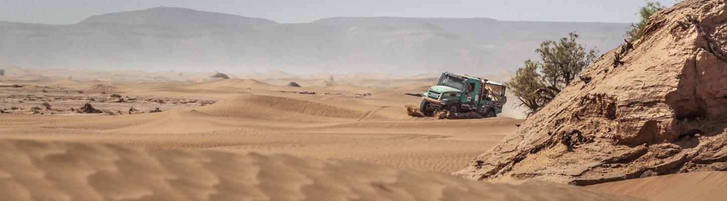 Morocco Desert Challenge: Mindere dag werpt Van Genugten terug